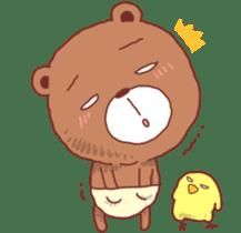 Diaper Bear Love You sticker #6019383