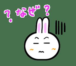 Rabbit tells. sticker #6020503