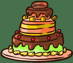 Cake Family sticker #6023675