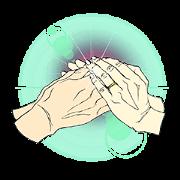 สติ๊กเกอร์ไลน์ HEART in your HANDS.