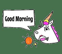 Hello Unicorn sticker #6030624
