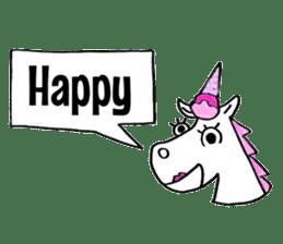 Hello Unicorn sticker #6030626