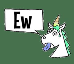 Hello Unicorn sticker #6030627