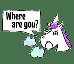Hello Unicorn sticker #6030629