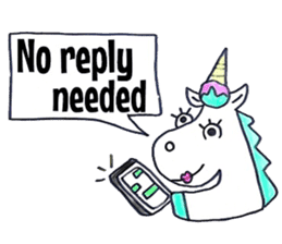 Hello Unicorn sticker #6030630