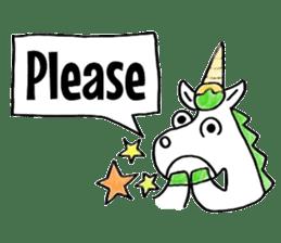 Hello Unicorn sticker #6030631