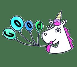Hello Unicorn sticker #6030636
