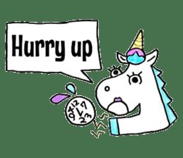 Hello Unicorn sticker #6030642