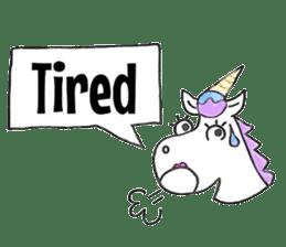 Hello Unicorn sticker #6030643