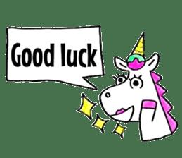 Hello Unicorn sticker #6030644