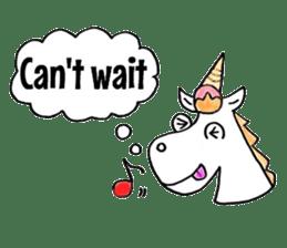 Hello Unicorn sticker #6030646