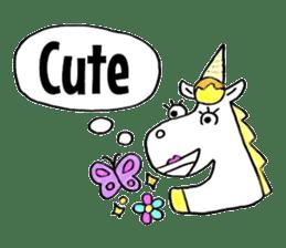 Hello Unicorn sticker #6030649