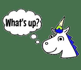Hello Unicorn sticker #6030650