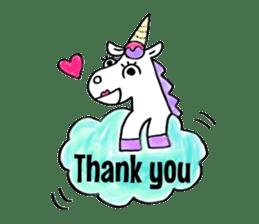Hello Unicorn sticker #6030651