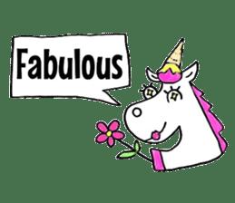 Hello Unicorn sticker #6030652