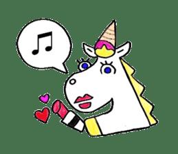 Hello Unicorn sticker #6030653