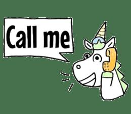 Hello Unicorn sticker #6030655