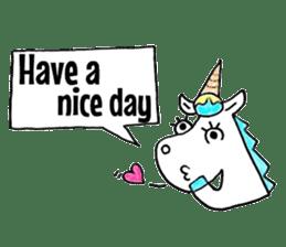 Hello Unicorn sticker #6030656