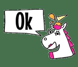 Hello Unicorn sticker #6030657