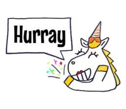 Hello Unicorn sticker #6030658