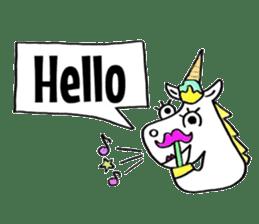 Hello Unicorn sticker #6030660