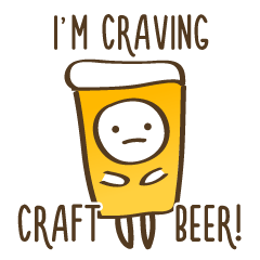 Craft Beer Sticker