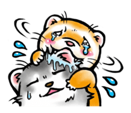 I love ferrets sticker #6034667