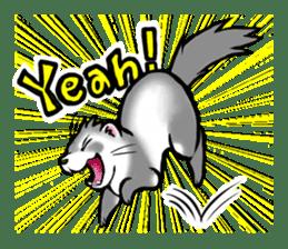 I love ferrets sticker #6034668