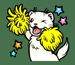 I love ferrets sticker #6034673