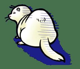 I love ferrets sticker #6034675