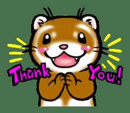 I love ferrets sticker #6034677