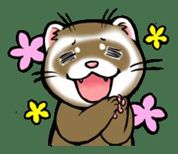 I love ferrets sticker #6034686