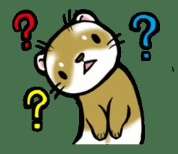 I love ferrets sticker #6034690