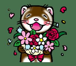 I love ferrets sticker #6034691
