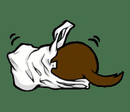 I love ferrets sticker #6034700