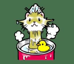 I love ferrets sticker #6034701