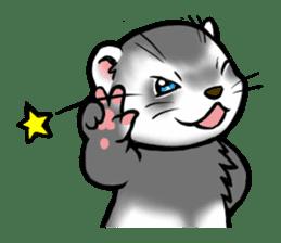 I love ferrets sticker #6034702