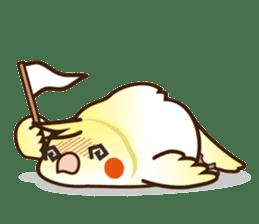 Miss Lovebird-Cockatiel 's home life sticker #6037370