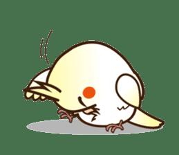 Miss Lovebird-Cockatiel 's home life sticker #6037378