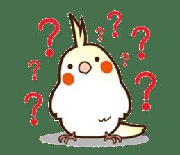 Miss Lovebird-Cockatiel 's home life sticker #6037390