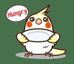 Miss Lovebird-Cockatiel 's home life sticker #6037397