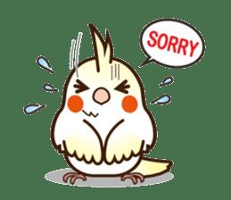 Miss Lovebird-Cockatiel 's home life sticker #6037398