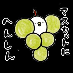Piyokichi of chick(Okayama's dialect)
