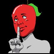 สติ๊กเกอร์ไลน์ Mr.Apple 3