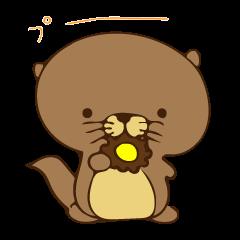 The sea otter singing a cappella