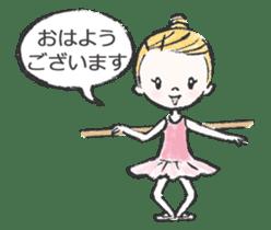 Happy Ballerina sticker #6043920