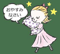 Happy Ballerina sticker #6043921