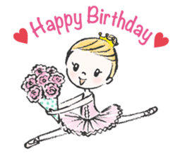 Happy Ballerina sticker #6043929