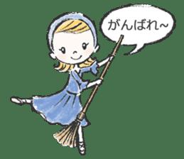 Happy Ballerina sticker #6043930
