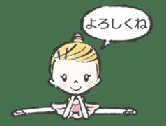 Happy Ballerina sticker #6043934